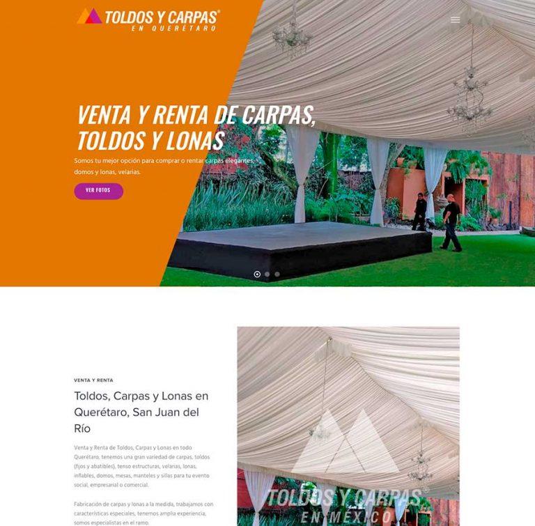 Toldos y Carpas en México®